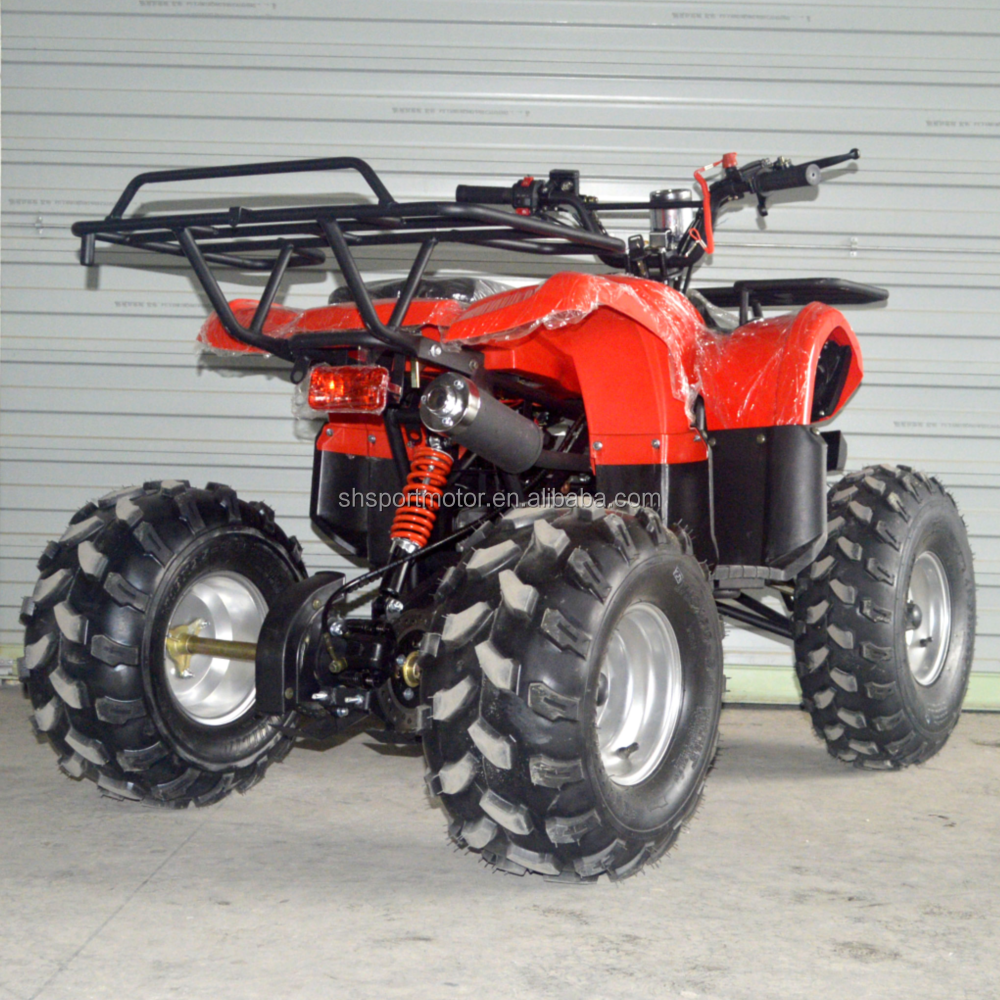 125cc gas atv fully automatic atv 4 wheeler for adult