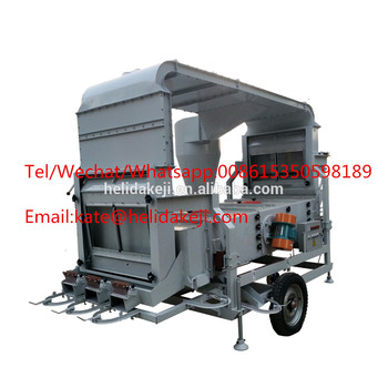 8 Tons per Hour Sesame Seed Double Air cleaning Machine