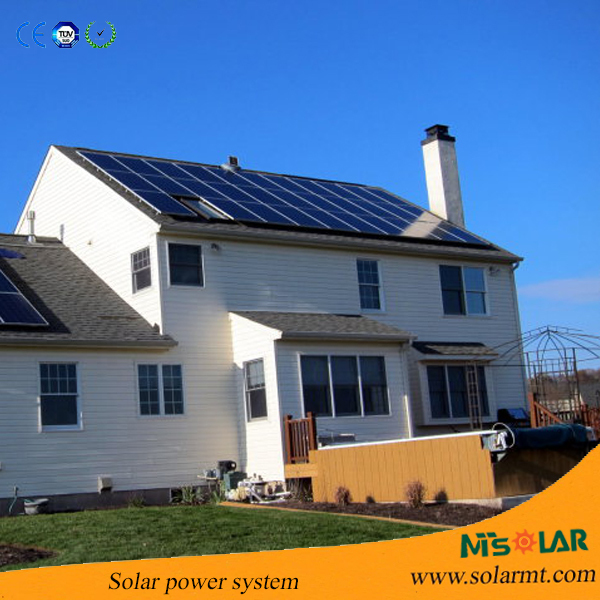 Reliable solar heating system 3KW home use on roof in USA