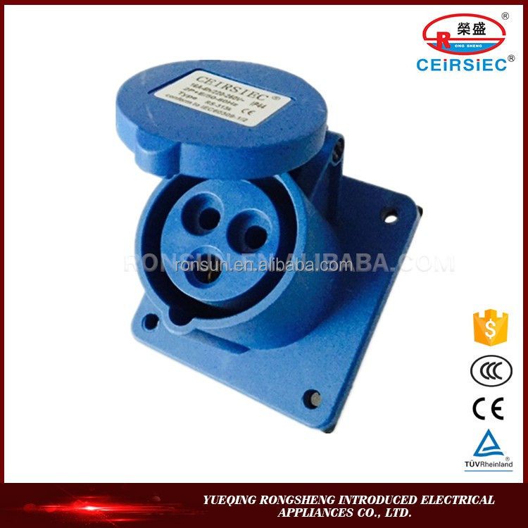 Industrial High Quality Manufacturer socket outlet types