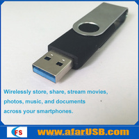 New arrival Wireless WIFI U disk Portable Mobile Storage usb flash drive