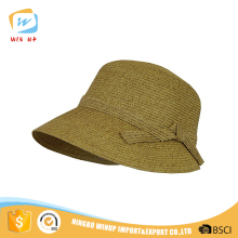 Winup High Quality Foldable Paper Hat men folding straw hats hat rack