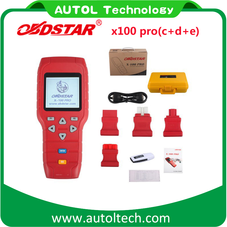 X100 <strong>X</strong>-<strong>100</strong> Auto key programmer <strong>X</strong> <strong>100</strong> pro Mileage correction tool Online Update car odometer correction by OBD cable