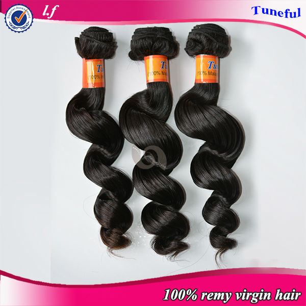 New products 2014 alibaba express latest fashionable remy Brazilian human hair weave