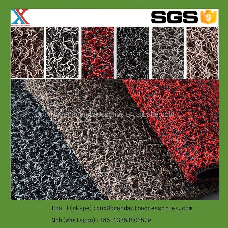 China de la bobina del pvc alfombra del coche alambre de pvc anillo alfombra lazo de alambre 3 - Alfombra de pvc ...