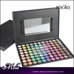 Wholesale High Quality 88 color wholesale eyeshadow pigment natural nudes color eyeshadow palette