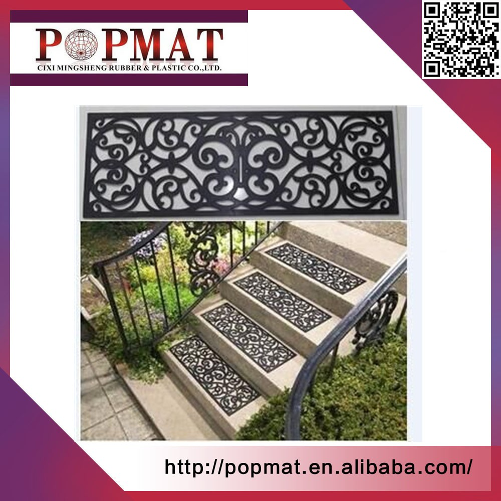 POPMAT rubber step mats with good quality