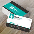Color double-sided business card free design printing service