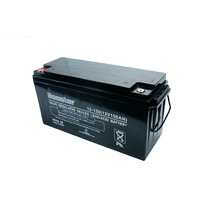 Normal 12v 150ah rechargeable storage agm battery with great power