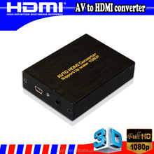 High quality RCA to HDMI converter for HDTV AV to HDMI Converter