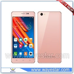 Pink mtk6580 quad core 6 inch Big Screen 3G cdma gsm android mobile phone