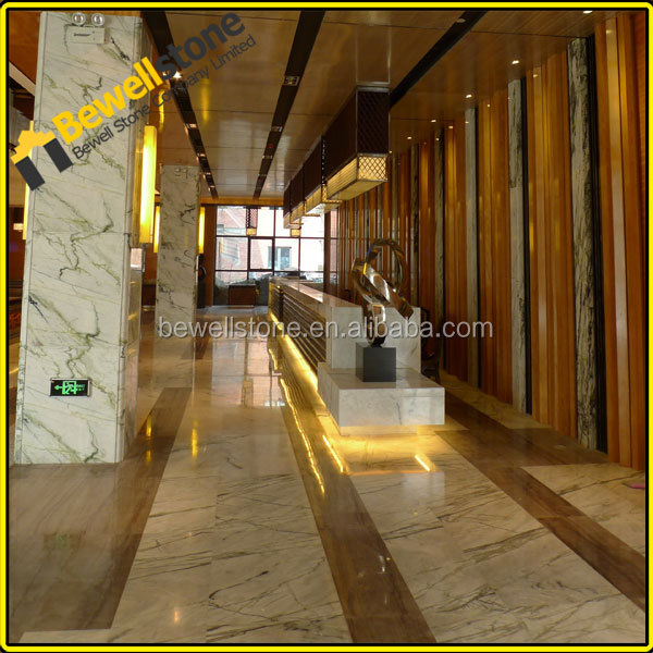 Bianco Sivec marble sugar white dolomite marble off white marble tiles for hotel corridor floor
