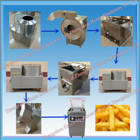 Commerical French Fries Machine / Potato Chips Production Line