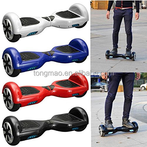2 Wheel Electric Standing Scooter with Bluetooth Music LED Speaker