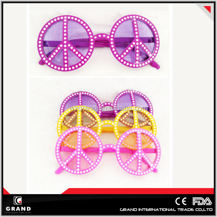 sunglasses most popular Peace Party plastic Sunglasses