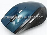 Rubber surface 2.4G wireless mouse for computer laptop PC travel