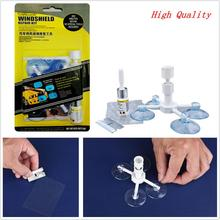 Car/Van Windscreen/Windshield Glass Chip/Crack Resin Repair Tool &Holder Kit DIY