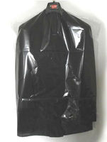 practical garment plastic bag for suit