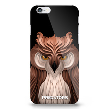 lovely personal picture New Design phone cover for iphone 4/5/6s plus Animal Pattern Luminous Plastics owl Cell Phone Case