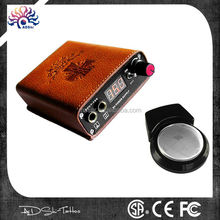Portable Wireless Rechargeable Tattoo Power Supply,Wireless Tattoo Foot Pedal Portable Power Supply Foot Switch,Wireless Digital