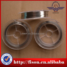 Hot selling Nichrome 80 20 flat wire, Ni80Cr20 nichrome ribbon wire with high quality