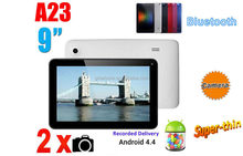 9 inch Android 4.4 Jelly Bean tablet pc with long battery life dual core smart pad