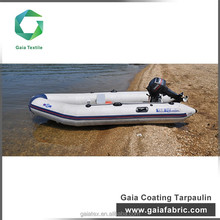 PVC coated fabric for tarpaulins coated pvc fabric for inflatable boat and boat fabric