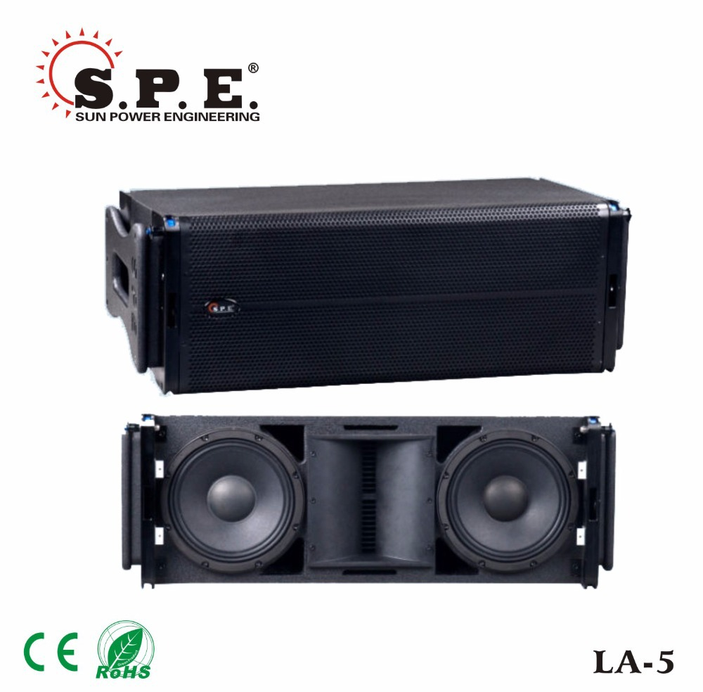 LA-5B spe audio 1200W passive dual 15 line array subwoofer