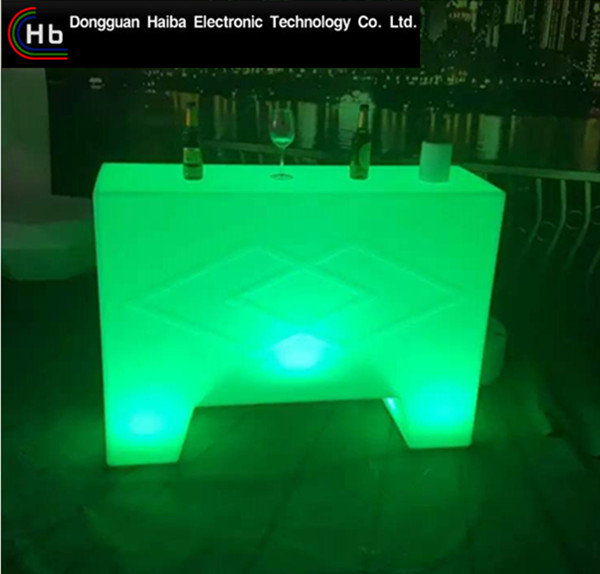 hot sale <strong>U</strong> Shape acrylic cocktail table bar Illuminated furniture bar cocktail table and chair