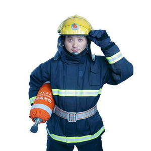 Flame retardant and heat stable comfortable fire fighting suit unisex