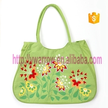 foldable printed flower extra large shopping bag for women