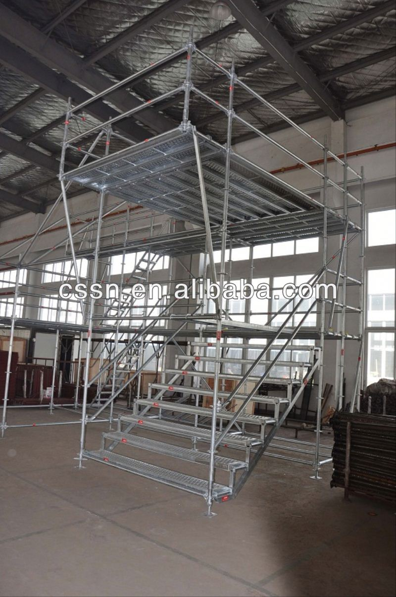 Type Of Building Material Ring Lock Scaffolding Steel Material
