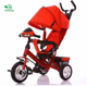 Russian hot sale models 3 wheel tricycle kids for baby trike bike with light baby tricycle for sale