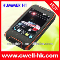 3.5 inch Capacitive MTK6515 Android 2.3 Shockproof mobile phone