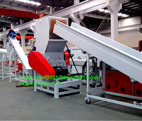 PP woven bags crushing washing recycling machine