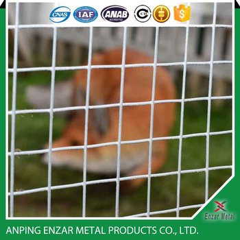 Durable Welded Wire Mesh Fence Panels in 6 Gauge AnPing