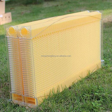 China Factory HoneyBee Prefer Langstroth/Australia 7 Frame Food Grade Plastic Automatic Honey Flow Bee Hive Frame