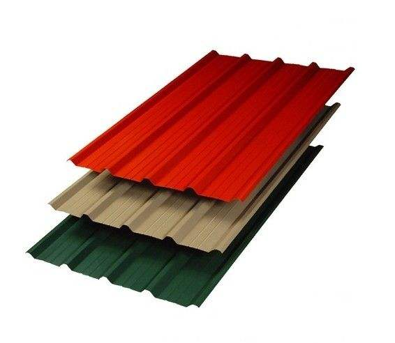 Zinc Coating Prepainted Galvanized Corrugated Steel Metal Roofing Sheet Tiles To Pakistan