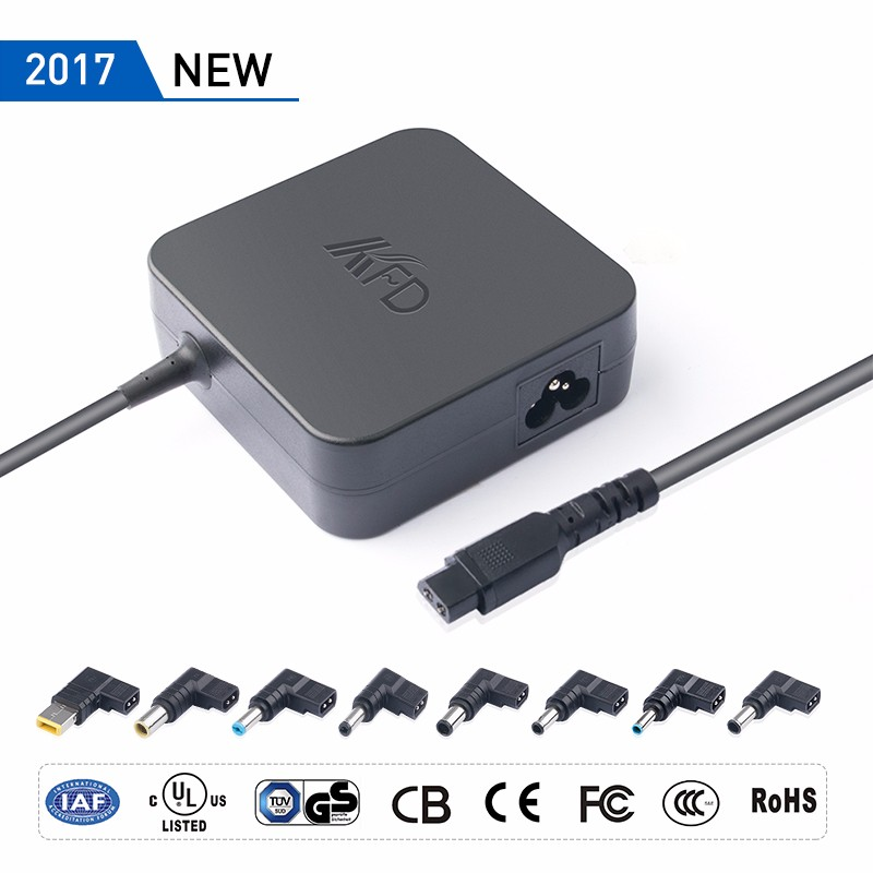 2017 ODM 75-90w Laptop Universal Adapter Portable Adapter Power supply