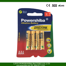 Primary Non-rechargeable Alkaline Battery