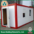 prefabricated flat pack aluminium structure pvc house price