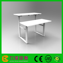 Electric Metal Uplift Height Adjustable Desk Sit Stand Office Furniture Workingstation Using