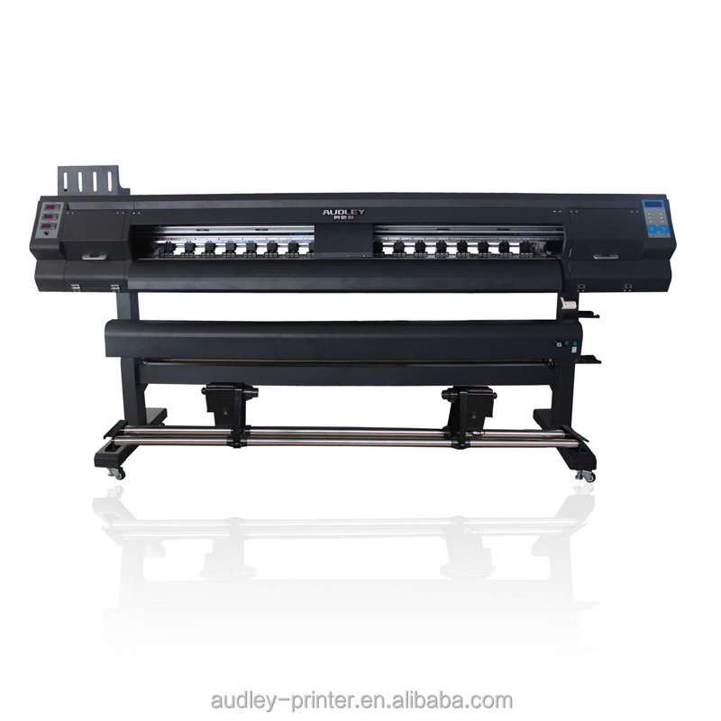 Audley S2000 190cm or 6ft one head fast speed Automatic digital Eco Solvent Printer With Dx5