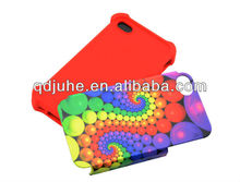 2-in-1 3D sublimation rubber phone case with aluminum sheet phone case