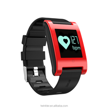 latest smart wrist watch bracelet calorie pedometer watch with heart rate monitor wristband,digital pedometer