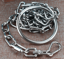 diameter 1.5mm- 4 mm pet animal connected chain link