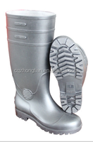 Three colours PVC safety Puncture proof boots for wholesale