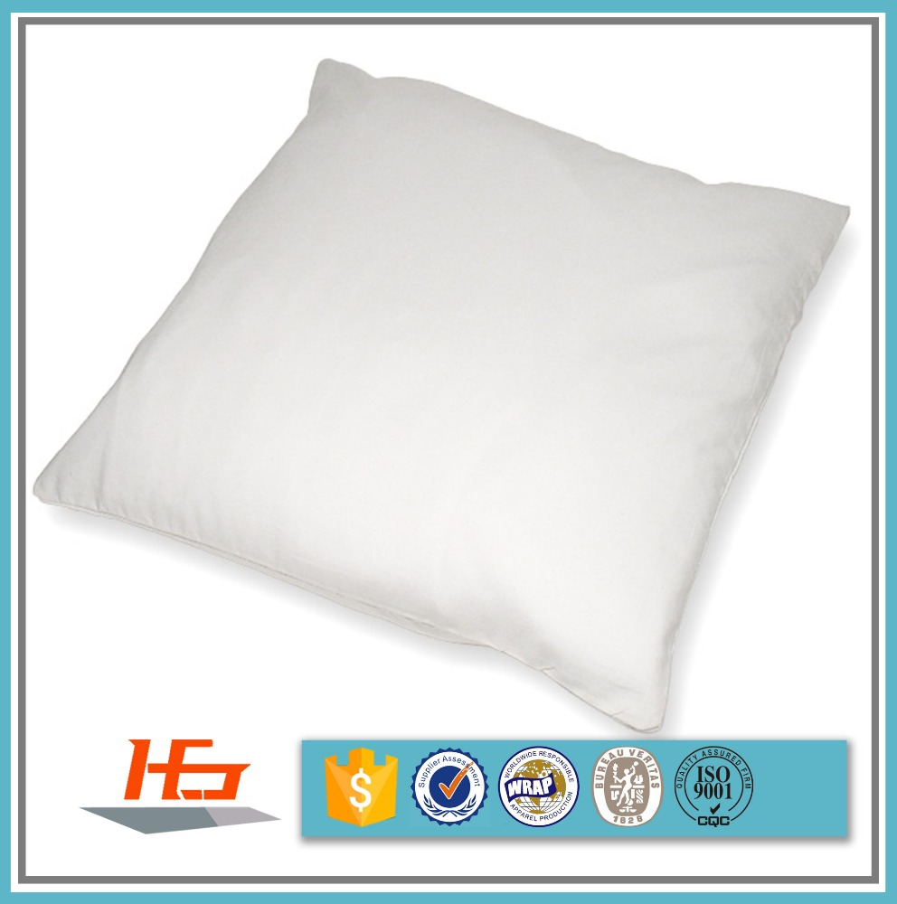 Bulk Sale 100% Polyester Brushed White Sublimation Pillow Case 20x20 Inch For Heat Transfer