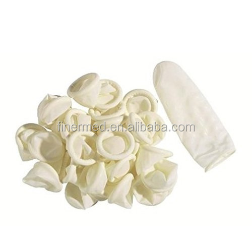 latex free disposable medical Fingertips Finger Cot