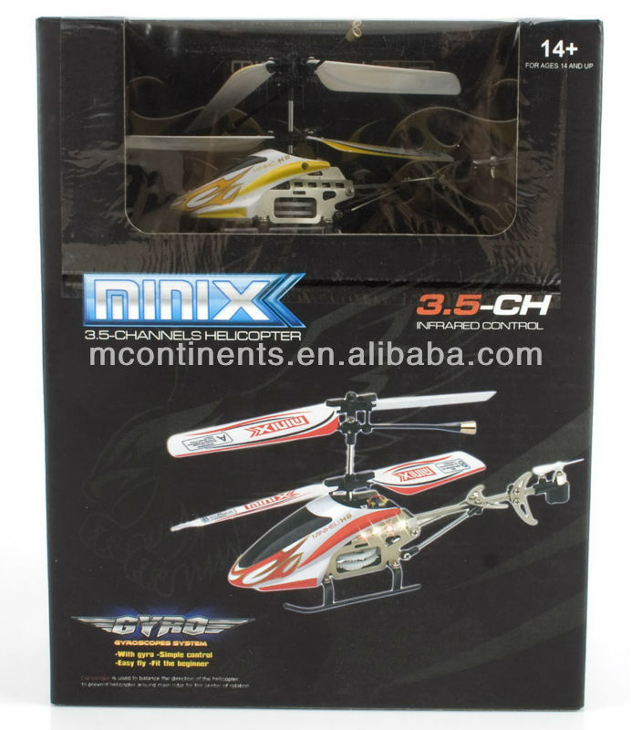 new product rc 3ch mini helicopter with gyro